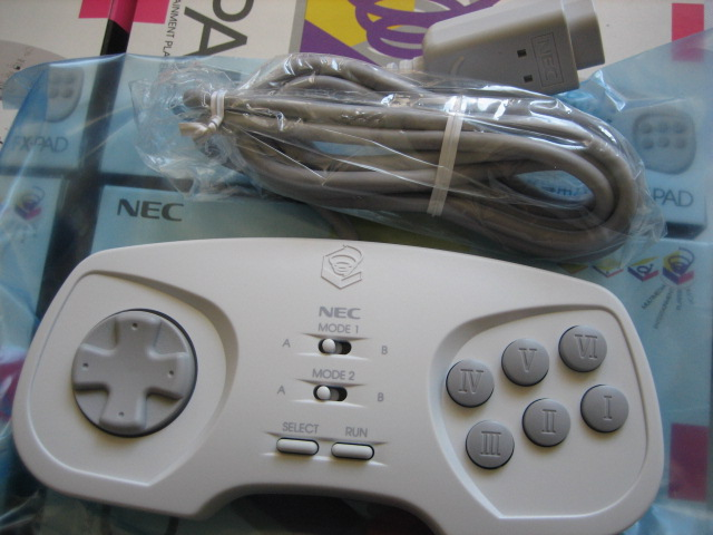 NEC PCFX game controller pad - Brand New - Click Image to Close