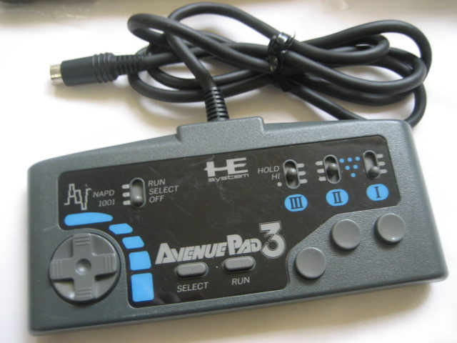 PC-Engine Controller pad - AVENUE PAD 3 - Click Image to Close