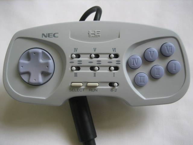 Pc-Engine controller Pad - DUO-RX - Click Image to Close