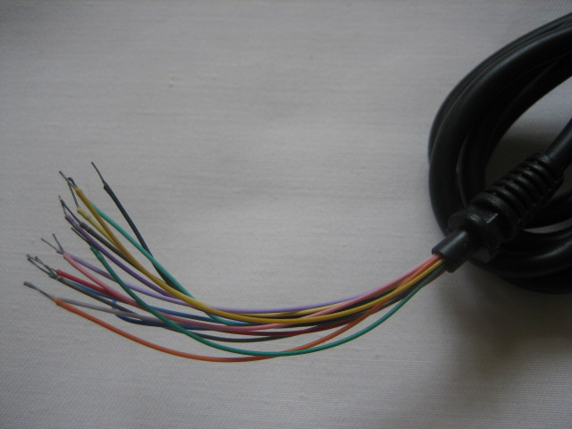 15 pin cable for Neo Geo controller pad - 1.2m - Click Image to Close