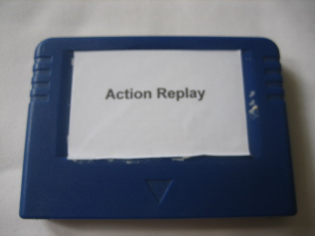 Action replay card for Saturn - Click Image to Close