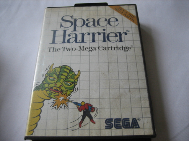 Space Harrier - MS - Click Image to Close