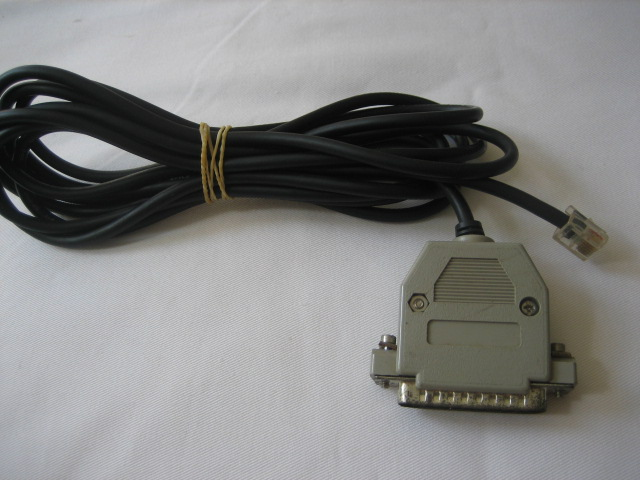 25 pin Pc cable for Dram interface - Click Image to Close